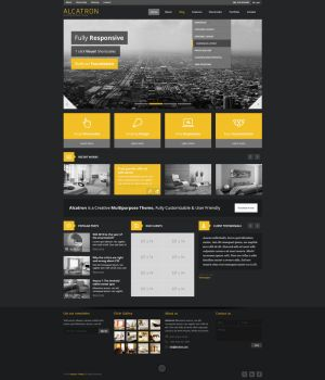 Alcatron WP Theme by sandracz