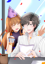 HBD: Jumin Han by TrainerAshandRed35