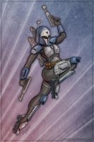 Bo-Katan of Death Watch by SuperEdco