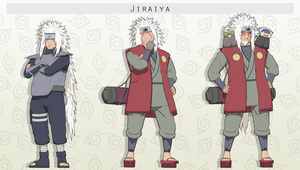 MMD  Jiraiya Pack + DL by NaraShadows
