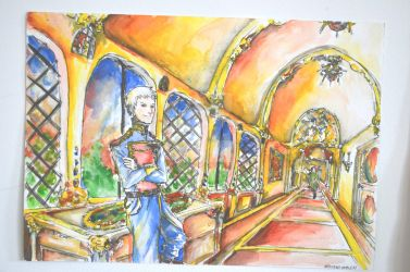 Hetalia The Castle Prussia and Italy by Nati13321