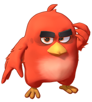 MMD Angry Birds Red Fire Model preview1 by 495557939
