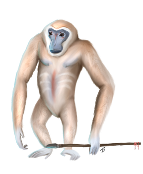 Gibbons of the Planet of the Apes by Jose1106