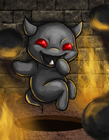 Little Horn - The Binding of Isaac by October--Rust
