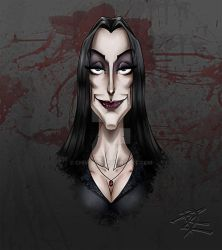 Morticia by Chivohit