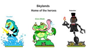 Skylanders Unleashed: Skylands by puglordseba
