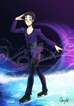 YUURI :Yuri on Ice: by GaruryKai