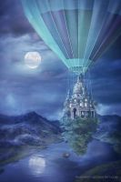 Flying Palace by annewipf