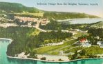 Vintage Canada - Tadousac Village, Quebec by Yesterdays-Paper