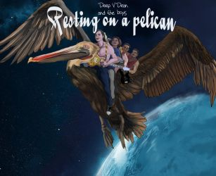 Resting on a Pelican cover by kyrisnowpaw
