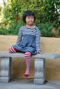 Striped Stockings 7 by SBG-CrewStock