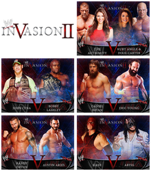 WWE Invasion II - Match Graphics by DNGRLIAM
