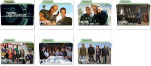 NCIS Los Angeles Folder Icons by nellanel
