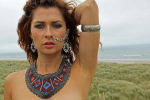 Anuit on her location shoot in Co Wexford,  III by macpatphotos