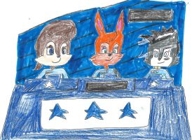 Sonic and Friends on Trivia Trap - Pic 2 by dth1971
