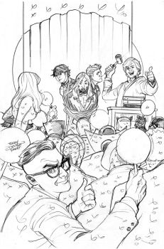 Generation X 6 Cover Pencils by TerryDodson