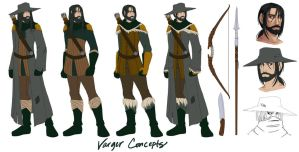 Model Sheet: Varger by LoreliAoD