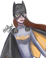 Batgirl by ChellizardDraws