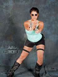 Lara Croft by EyeCandeeVisuals