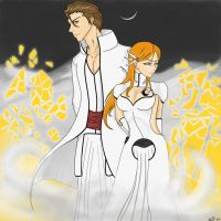 Orihime, Queen of the Hollow by xTacitusx