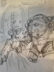 Bioshock sketch by MattyH85