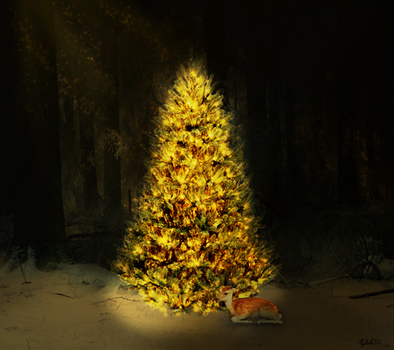 Silent Night by Kylee-DC