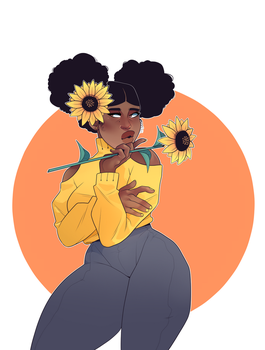 Sunflower by Isihock