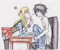 Misa gets what Misa wants by lilacbird