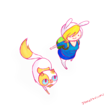 fionna and cake by xsweet-rainex