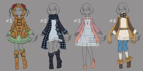 [closed] Auction Pretty casual Adopt Outfit by YuiChi-tyan
