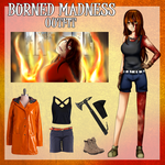 :CPOC: Burned Madness - Outfit by Yam-Pao