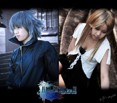 FFvXIII - Noctis and Stella by AmenoKitarou