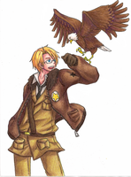 APH- America -not my lines- by Frostpebble