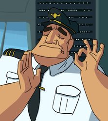 When you land the plane just right. by Malnu123
