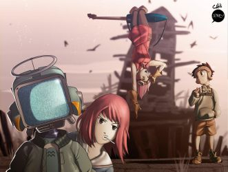FLCL Collab by pacman23