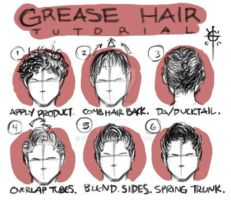 Grease Hair Tutorial (Male) by soas95