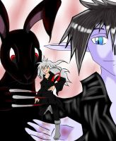 Elidion, Dark Rabbit and Steir by Do-omed-Moon