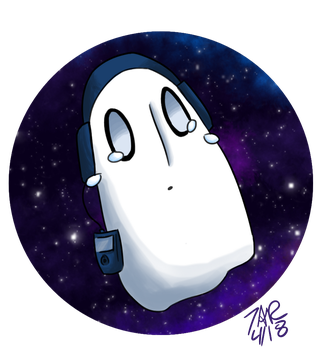 Napstablook by superhorse18