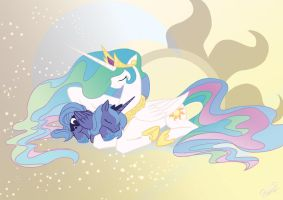 Celestial Bodies At Rest by DawnAllies