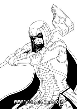 Ronan the Accuser Sketch by ryodita