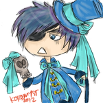 Crude Chibified Ciel by myst-o