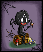 Don't Starve: Webber by the-cat-pie