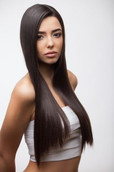 Girl with healthy long hair 4 by FozzyNetwork