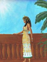 Egyptian Royalty by MyWorld1