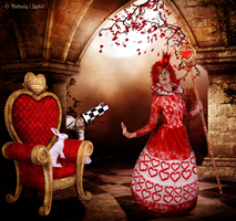 Queen of Hearts by Inadesign