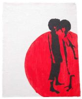 stencil afros indoors by Gize-dk