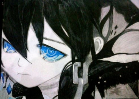 BLACKrockShooter by axenEun07