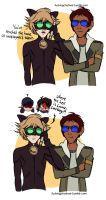 Lance and Adrien as besties Part 3/3 by urbangurl123