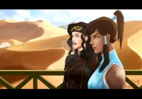 Korrasami redraw by darkelfslair