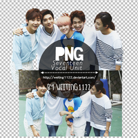 Seventeen Vocal Unit PNG By Weiting1122 by weiting1122